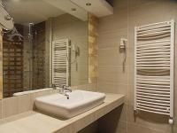 Elegant and nice bathroom at Hajduszoboszlo Atlantis Wellness Hotel