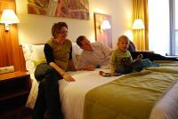Wellness Hotel in Gyula offers convenient and friendly family room