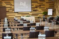 Modern conference room at Lake Velence in Vital Hotel Nautis