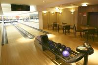 Bowling course at the Vital Hotel Nautis wellness hotel in Gardony