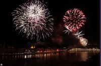 Fireworks in Budapest on 20 August - Novotel Budapest Danube with panoramic view to the Danube