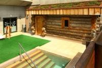 Saliris Resort Wellness Hotel with famous log sauna in Egerszalok