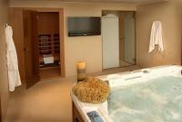 Saliris Spa Hotel's luxury presidential suite room with Jacuzzi